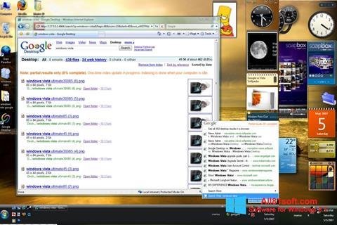 સ્ક્રીનશૉટ Google Desktop Windows 8.1